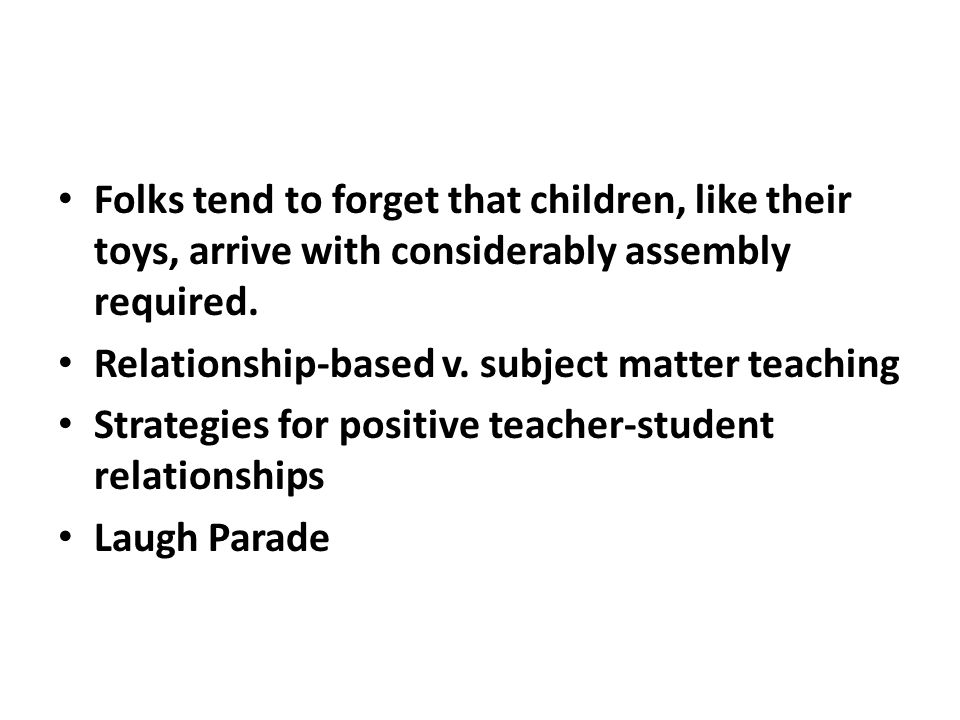 Turn mistakes into lessons.Isolation and alienation of teachers Keep Out.