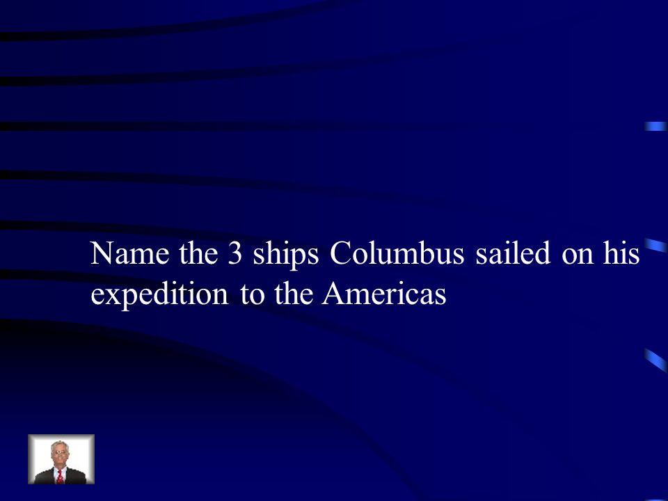 Jeopardy Columbus New Spain CortesVocabulary Q $100 Q $200 Q $300 Q $400 Q $500 Q $100 Q $200 Q $300 Q $400 Q $500 Final Jeopardy