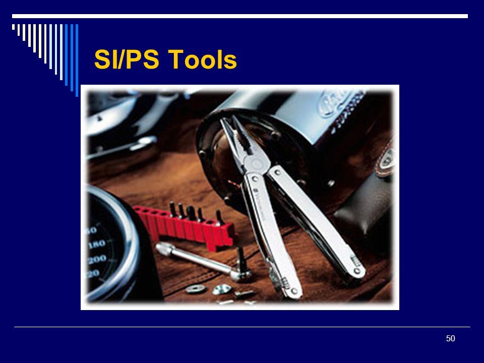 50 SI/PS Tools