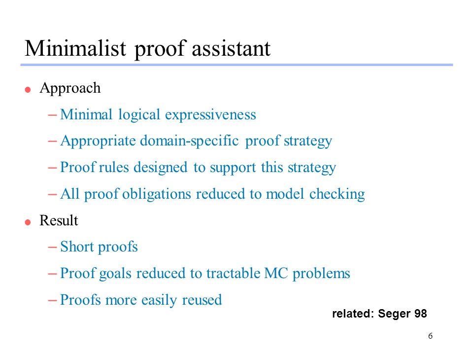 7 Rules built into SMV system...