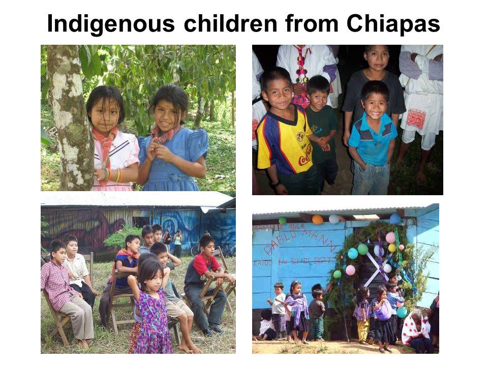 Indigenous children from Chiapas