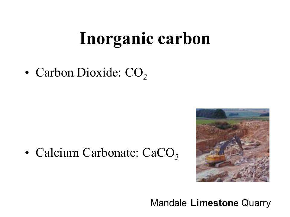 Organic Carbon Hydrocarbons: CH 4 Carbohydrate: CH 2 O