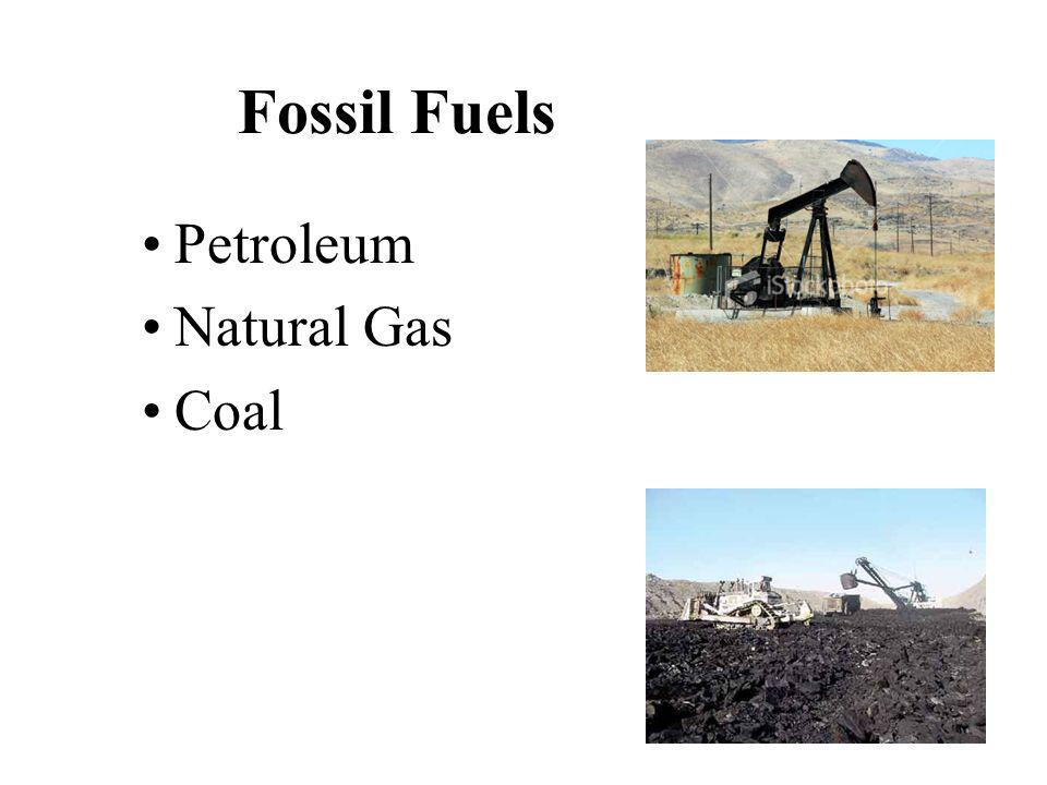 Fossil Fuel 86% of global primary energy consumption is fossil fuels.