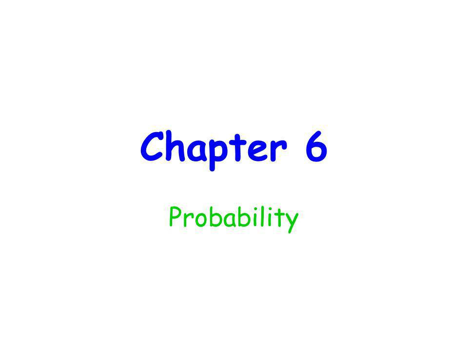 The Classical Approach When the outcomes in a sample space are equally likely, the probability of an event E, denoted by P(E), is the ratio of the number of outcomes favorable to E to the total number of outcomes in the sample space.
