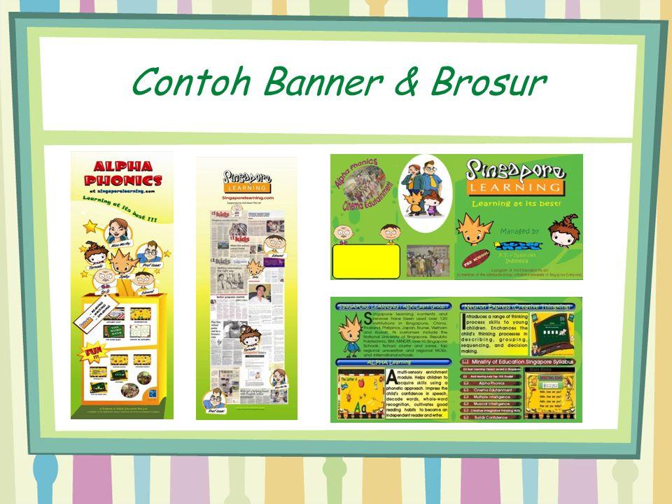 Contoh Banner & Brosur