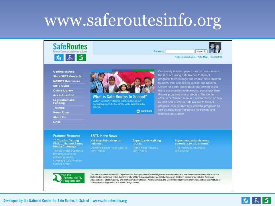 www.saferoutesinfo.org