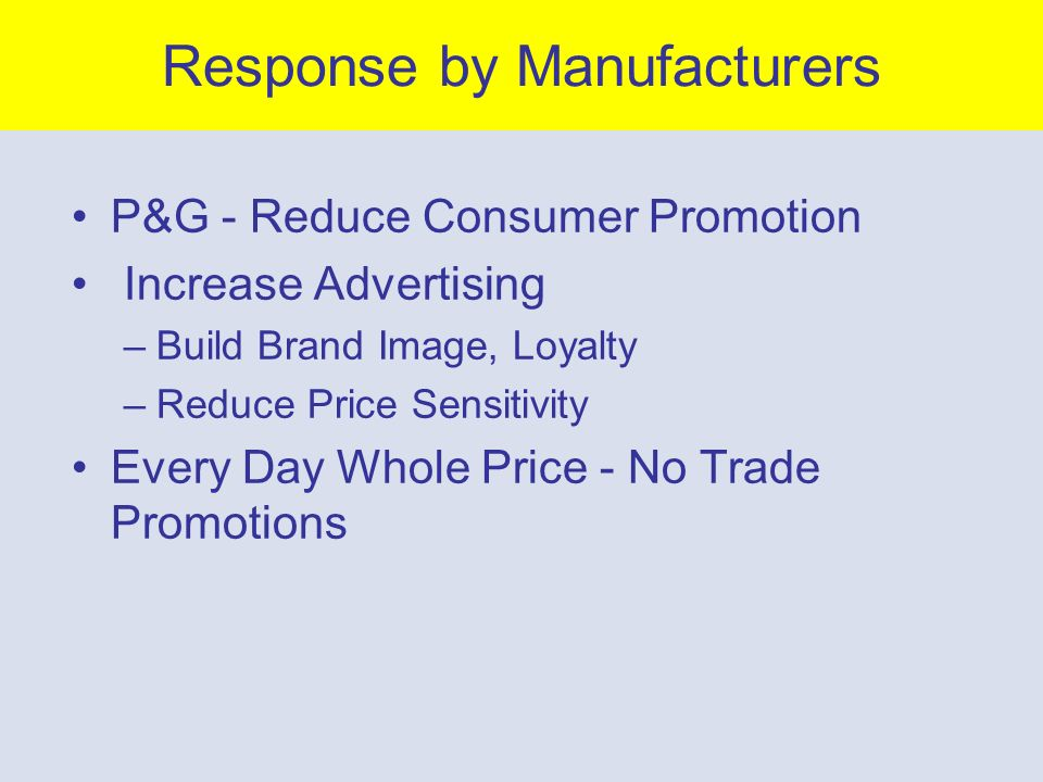 10- 43 Efficient Consumer Response Trade Promotions ==> Forward Buying ==> Extremely Uneven Production Motivation for Packaged Goods Mfrg –Stop Price Promotion, Forward Buying –Level Out Demand Motivation for Supermarkets –Rise of Warehouse Clubs/Discount Store Use of EDLP Pricing –Need to Become More Efficient –Excessive Inventory - $30 Billion