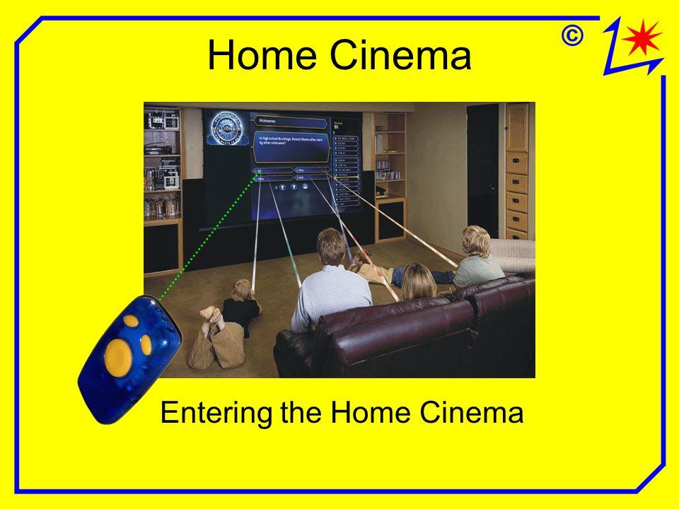 Home Cinema Entering the Home Cinema