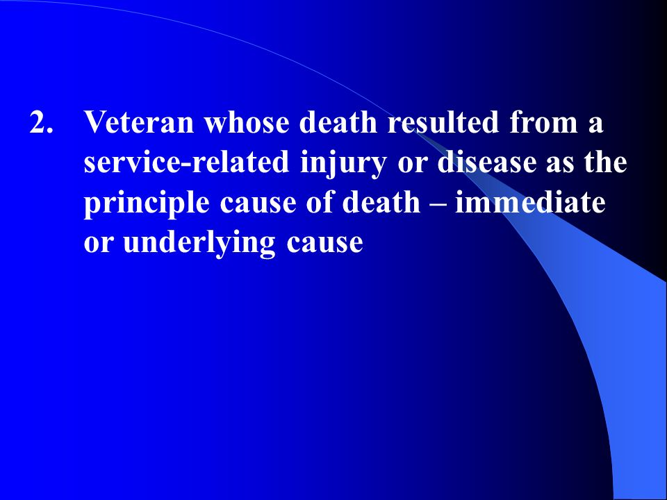 The total amount of accrued benefits are first payable to the surviving spouse even if not entitled to other death benefits based on receipt of proper application: VA Form 21-534