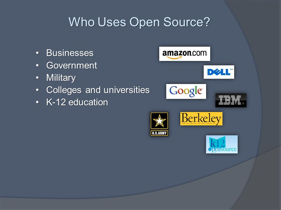 Who Uses Open Source.