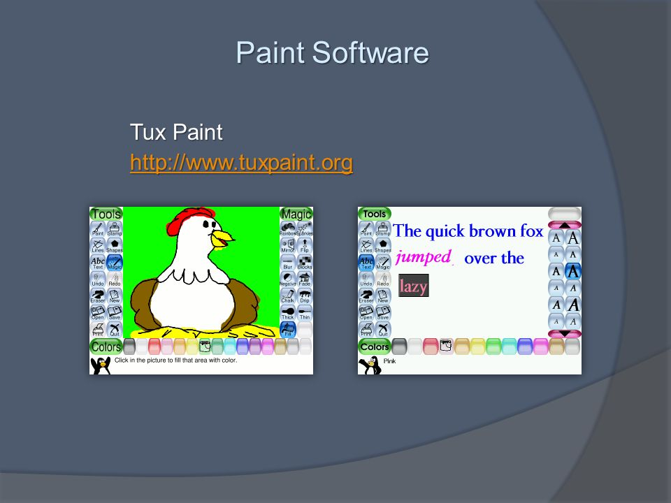 Paint Software Tux Paint