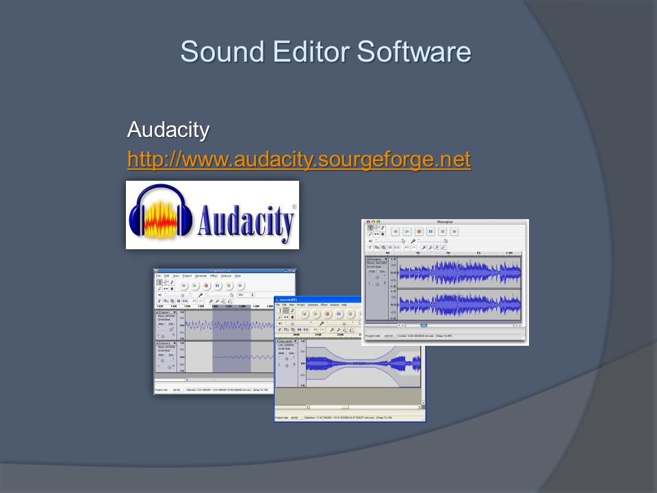Sound Editor Software Audacity