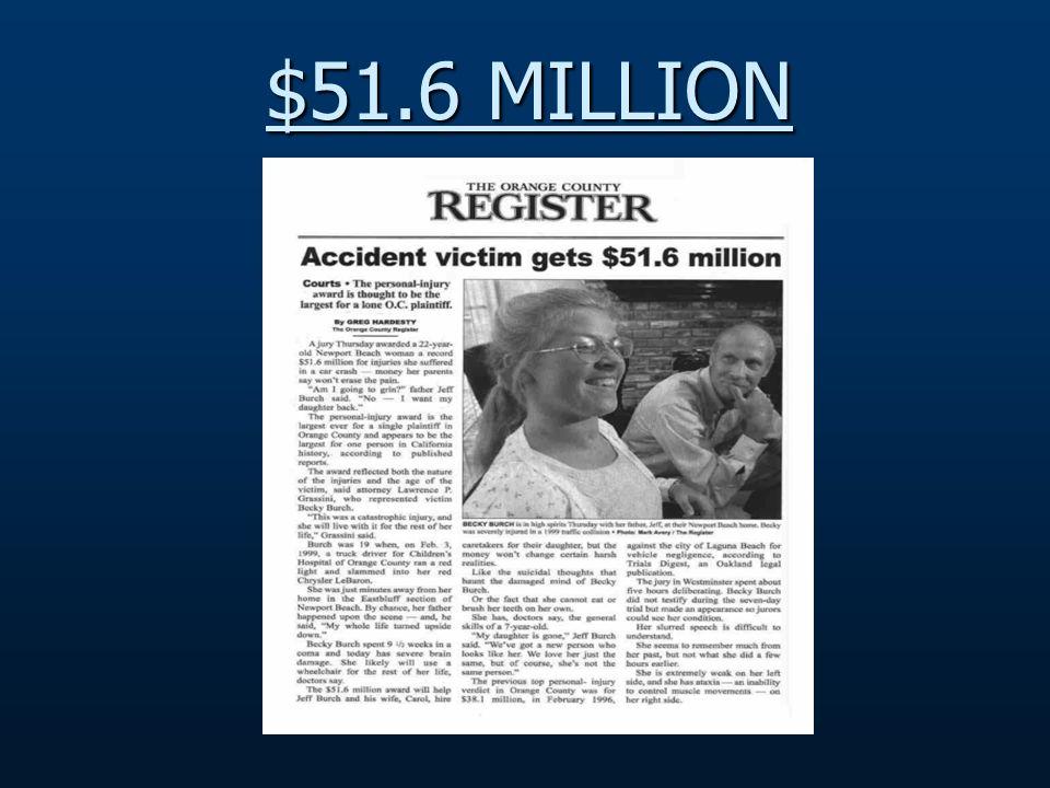$51.6 MILLION