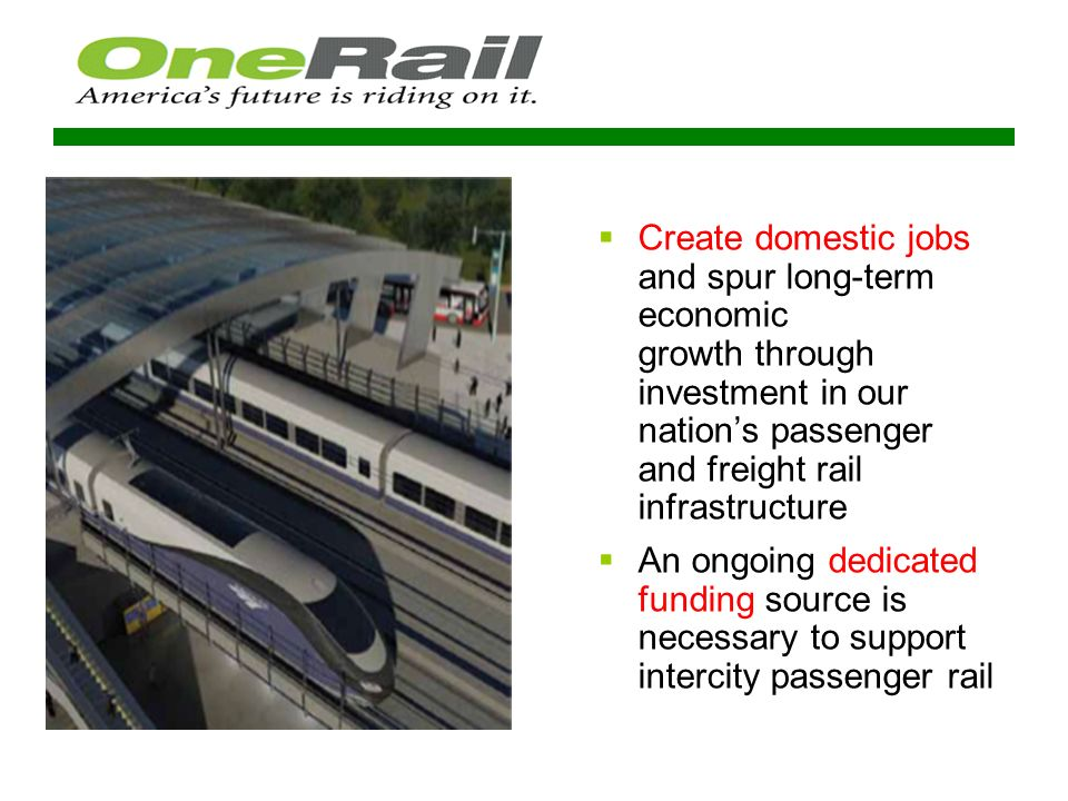 Federal Funding for Rail ($ in billions) FY 2012 Admin.