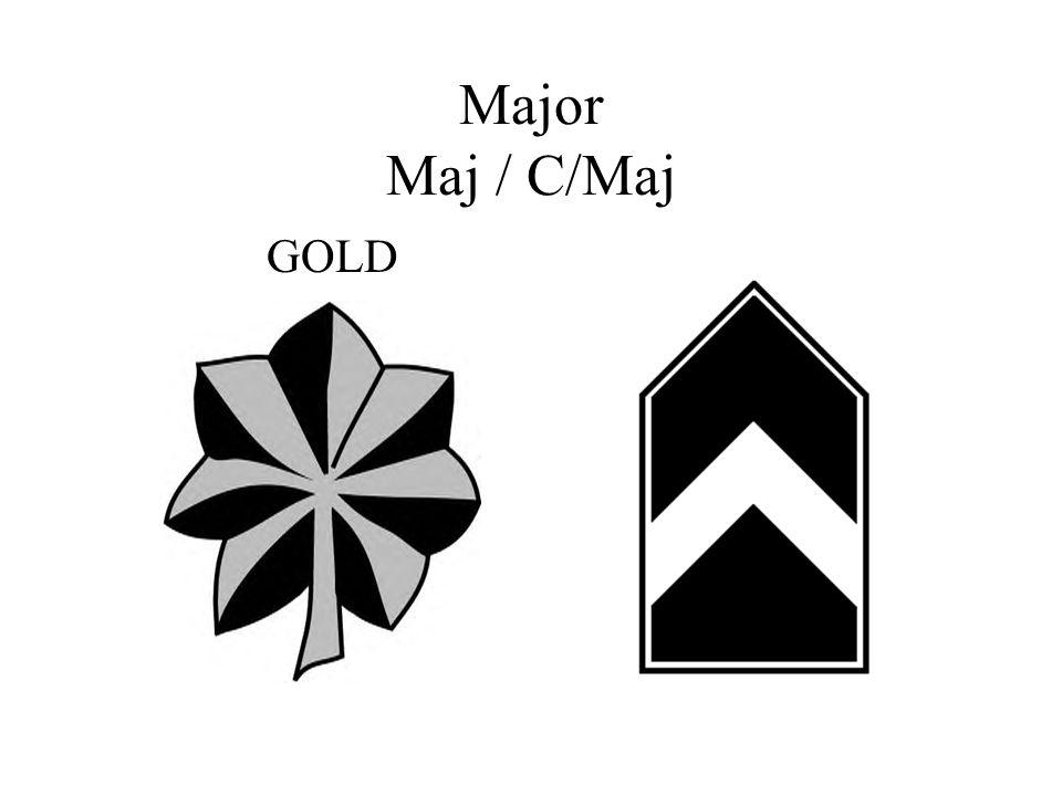 Major Maj / C/Maj GOLD