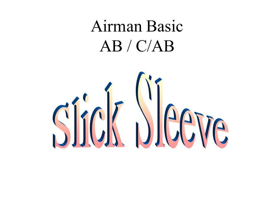 Airman Basic AB / C/AB