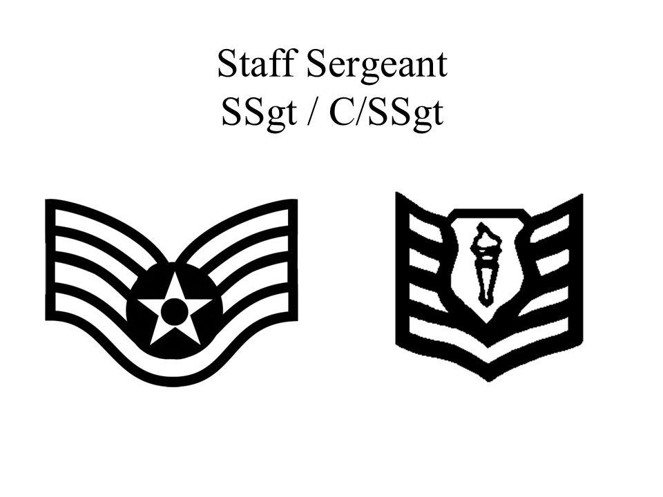 Staff Sergeant SSgt / C/SSgt