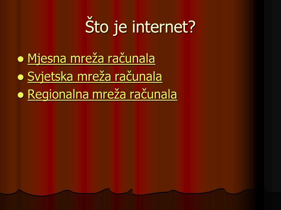 Što je internet.