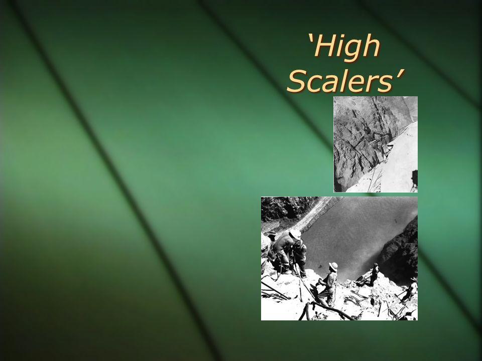 High Scalers