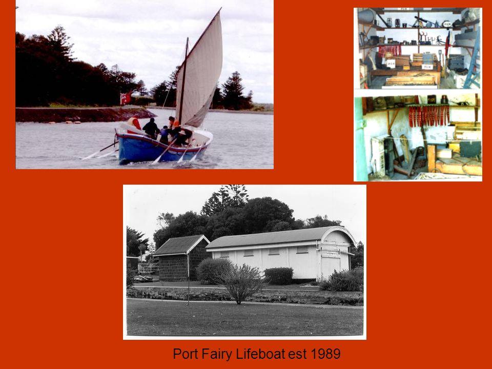 Port Fairy Lifeboat est 1989