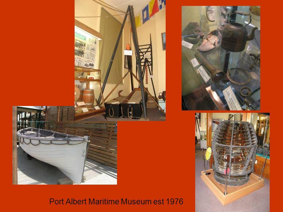 Port Albert Maritime Museum est 1976