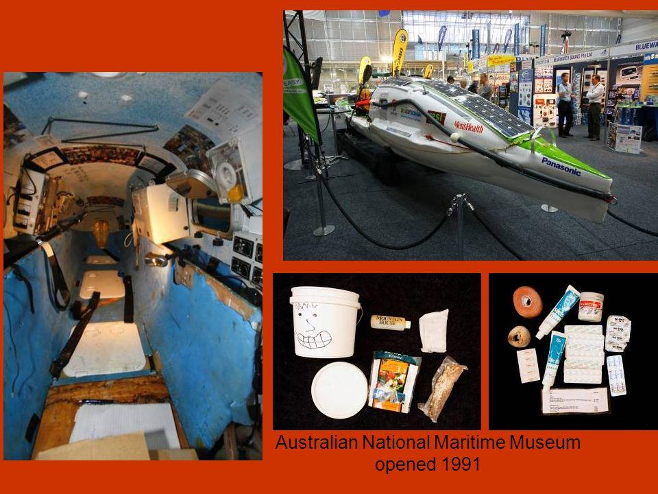 Australian National Maritime Museum opened 1991