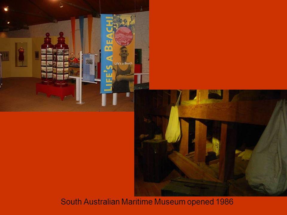 South Australian Maritime Museum opened 1986
