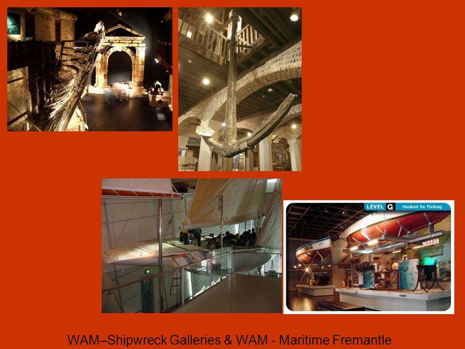WAM–Shipwreck Galleries & WAM - Maritime Fremantle