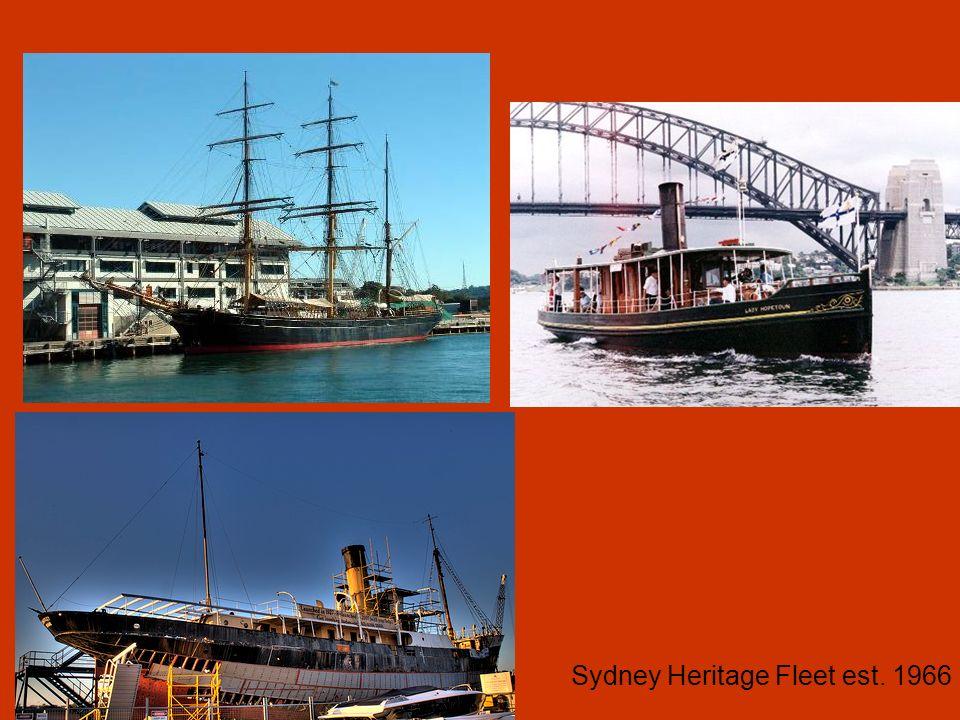 Sydney Heritage Fleet est. 1966