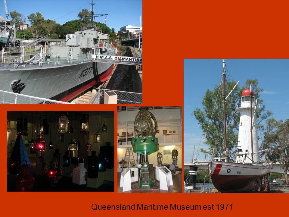 Queensland Maritime Museum est 1971