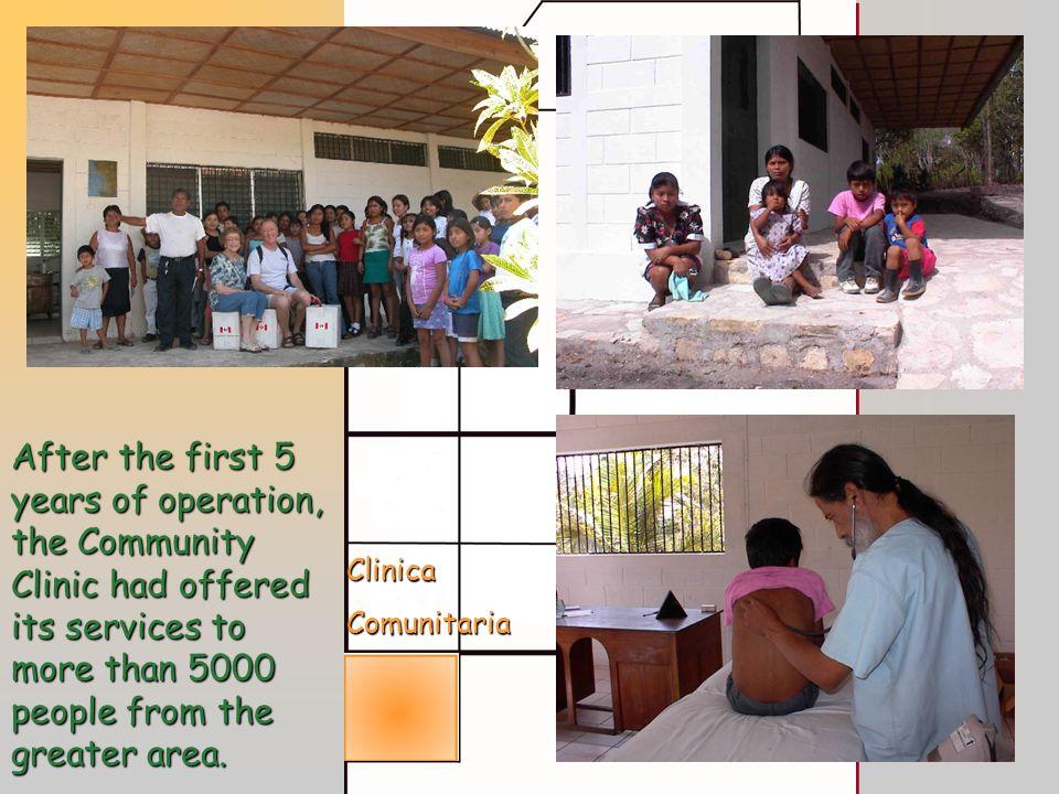 Funding for infrastructure donated by La Gremial de Molineros de Arroz de Guatemala.