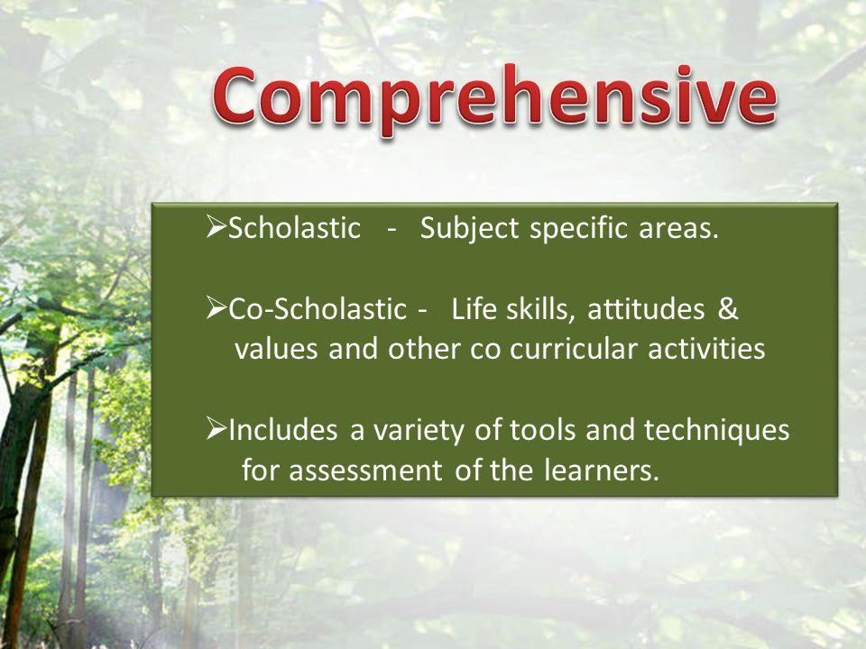 Scholastic - Subject specific areas.