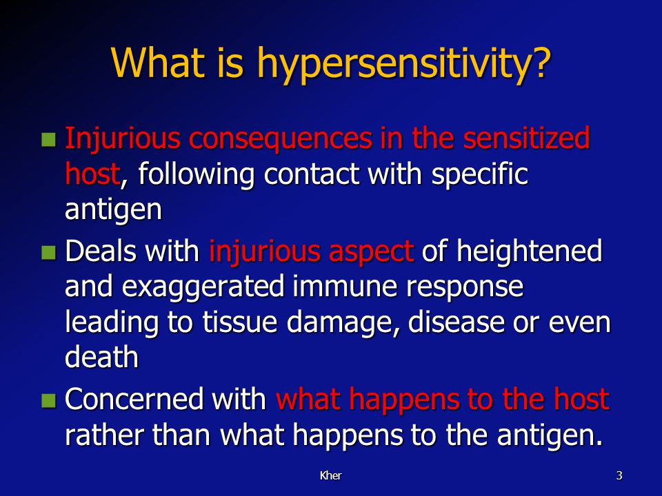 Learning objectives 1. C lassify the hypersensitivity reactions 2. List the diseases associated with hypersensitivity reactions 3. Describe the mechan