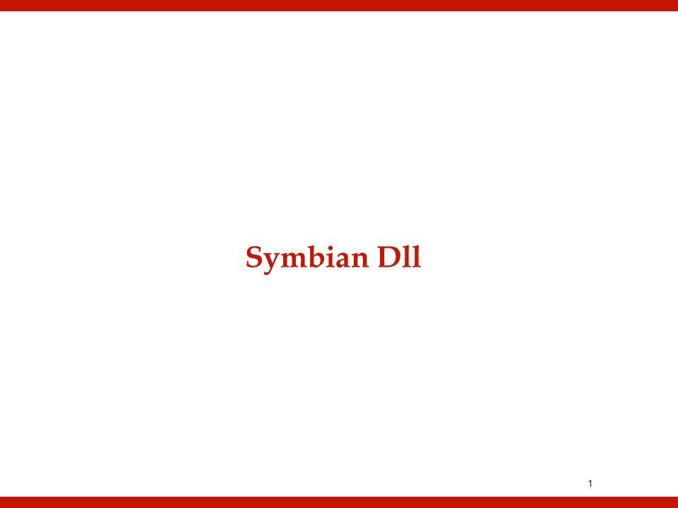 1 Symbian Dll