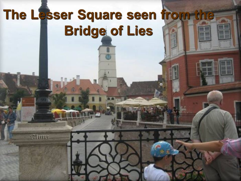 The Lesser Square seen from the Bridge of Lies