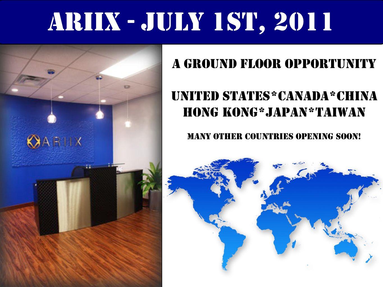 Representing over 125 years of experiencE! ariix leadership teamARIIX Management team