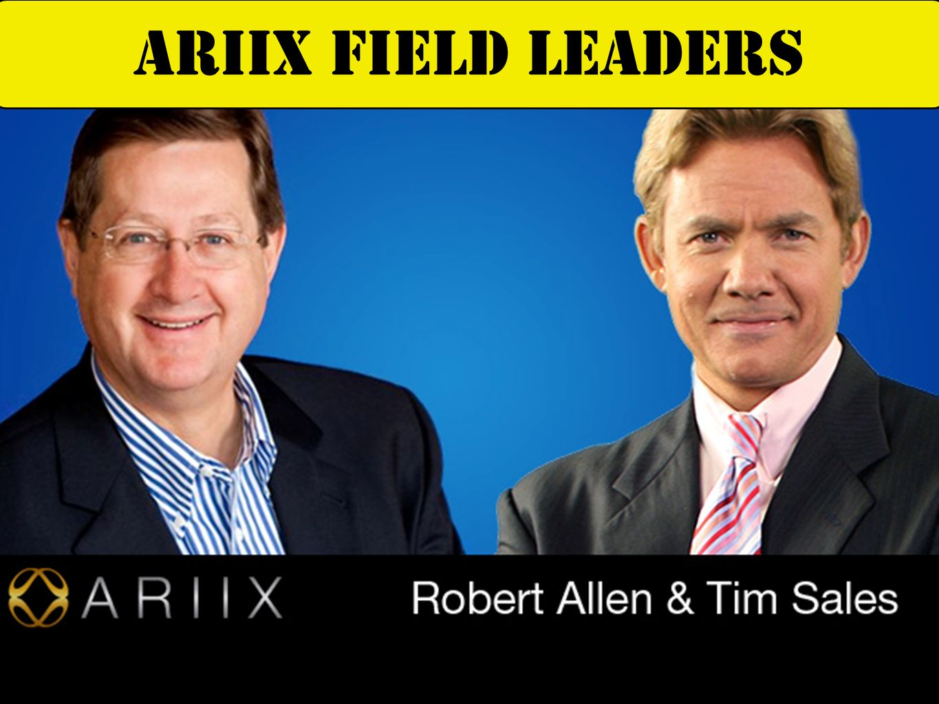 Deanna Latson Chief product officer Dr. Ray Strand Chief Medical Advisor ARIIX NUTRITION EXPERTS
