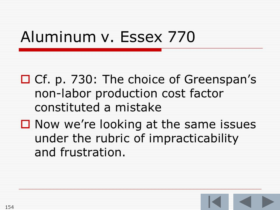 Aluminum v. Essex 770 Cf. p.