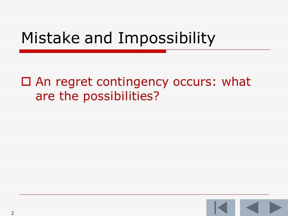 Mutual Mistake: Alcoa Did Alcoa assume the risk.