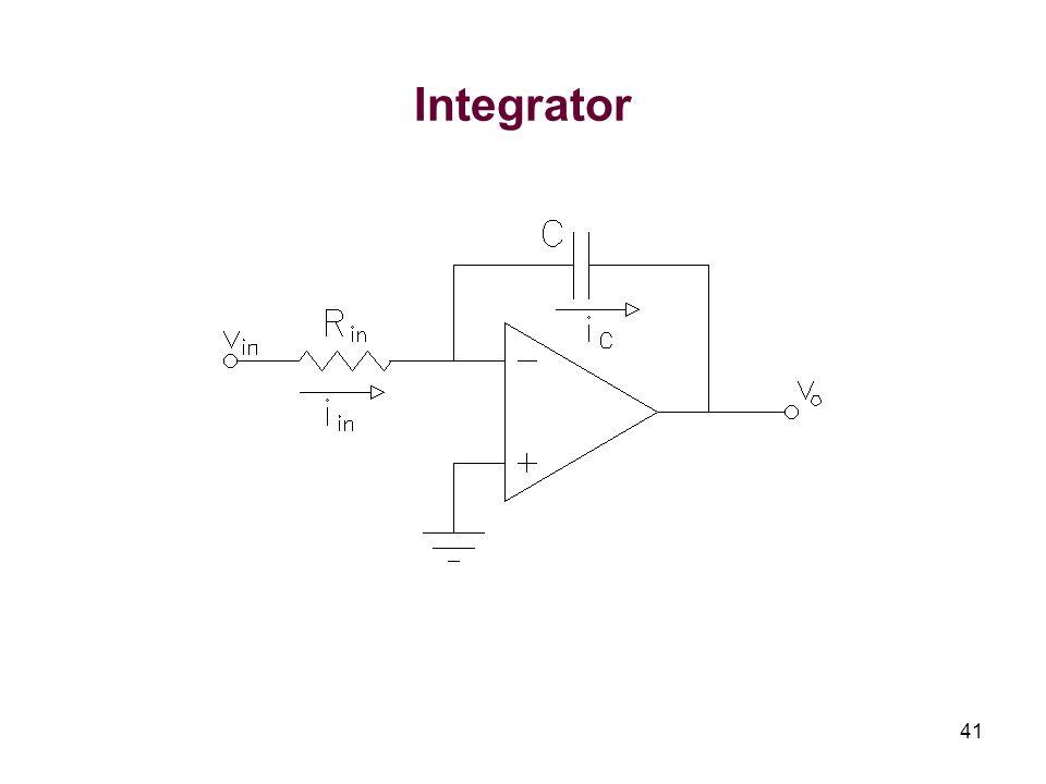 41 Integrator
