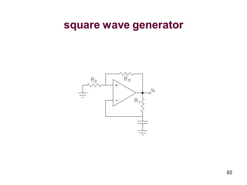 50 square wave generator
