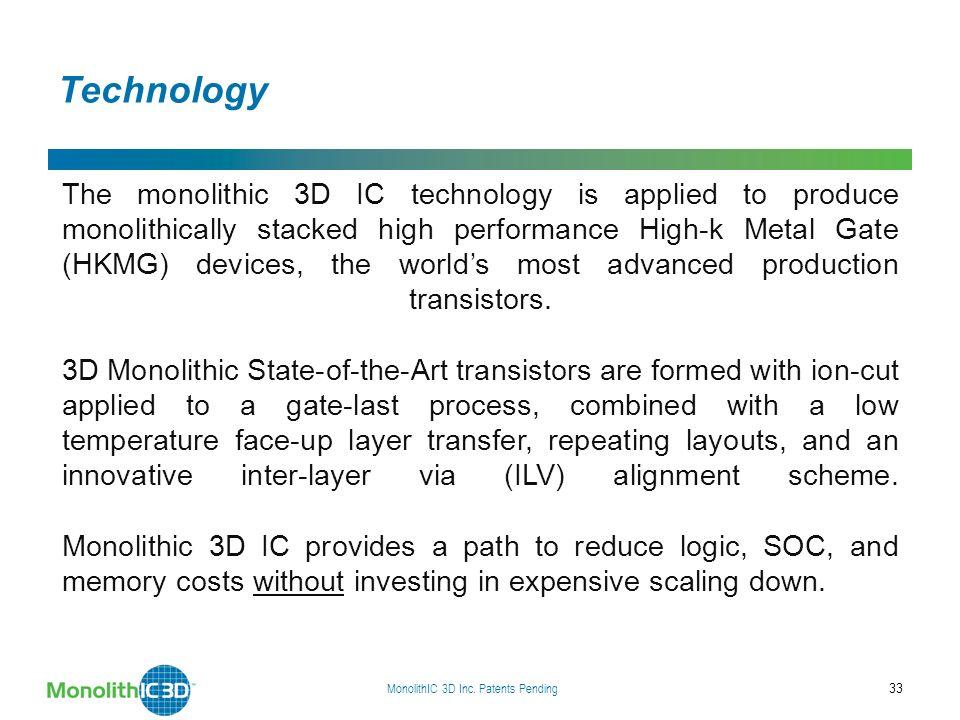 MonolithIC 3D Inc.