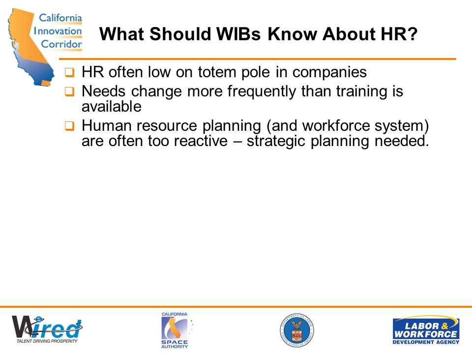 What Should WIBs Know About HR.
