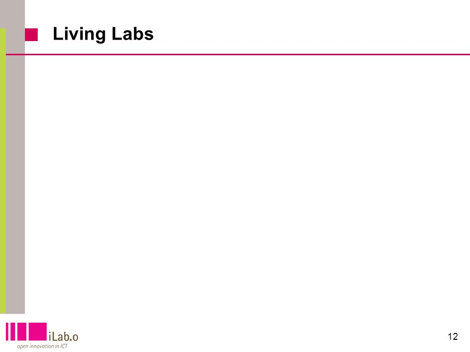 12 Living Labs
