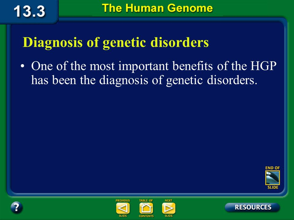 Section 13.3 Summary – pages 349 - 353 Improved techniques for prenatal diagnosis of human disorders, use of gene therapy, and development of new meth