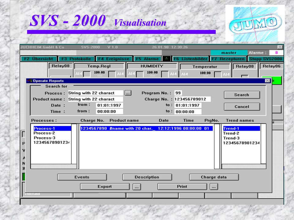 SVS - 2000 Visualisation