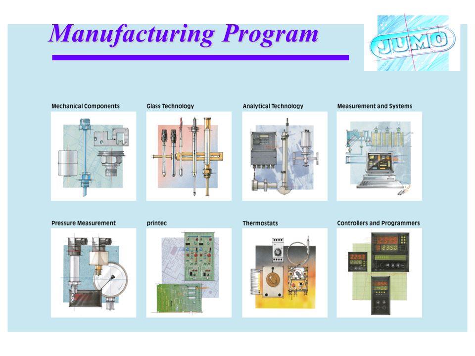 Manufacturing Program