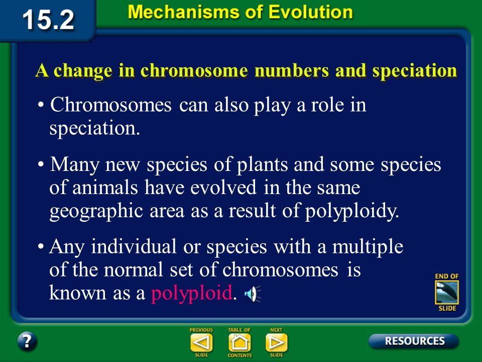 Section 15.2 Summary– pages 404-413 Reproductive isolation can result in speciation There are different types of reproductive isolation.