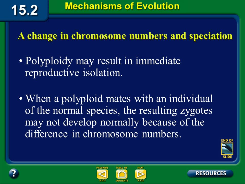 Section 15.2 Summary– pages 404-413 Mistakes during mitosis or meiosis can result in polyploid individuals.