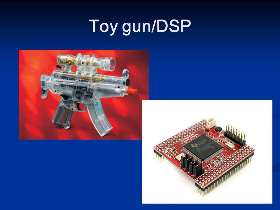 Toy gun/DSP